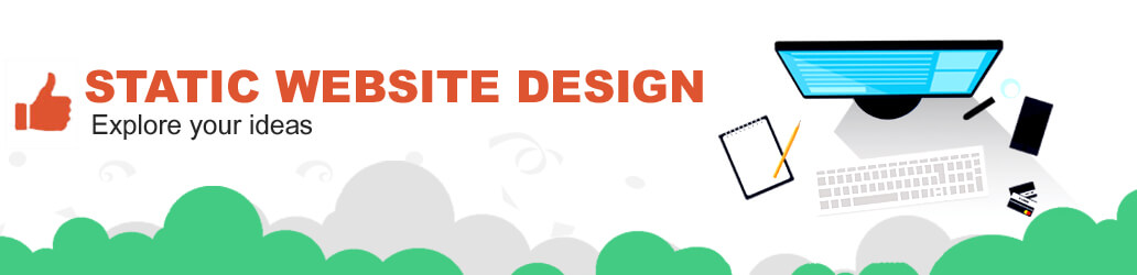 Stacic website designing company in delhi ncr