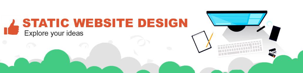Stacic website designing company in delhi ncr