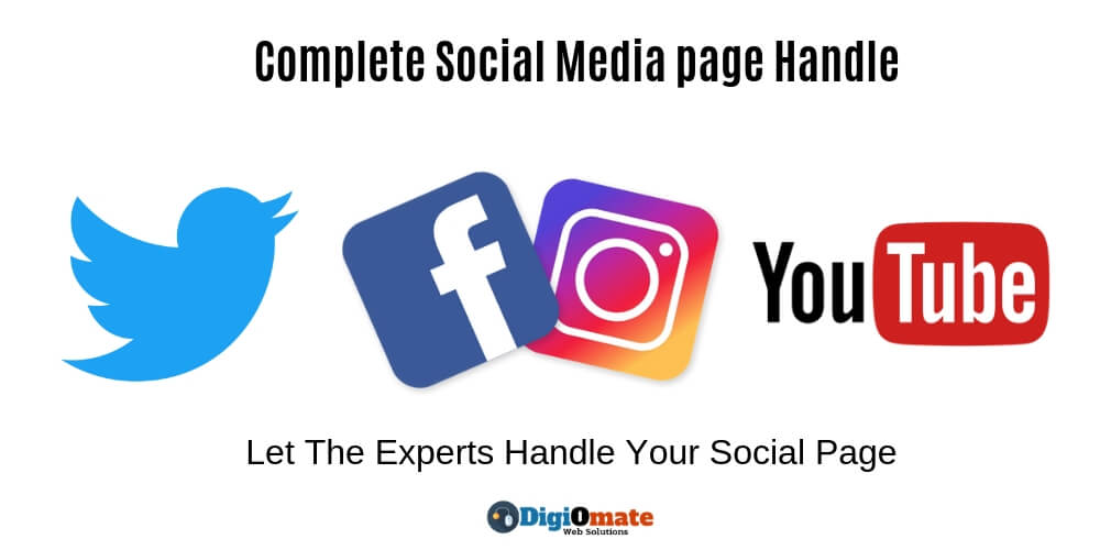 Complete Social Media page Handle