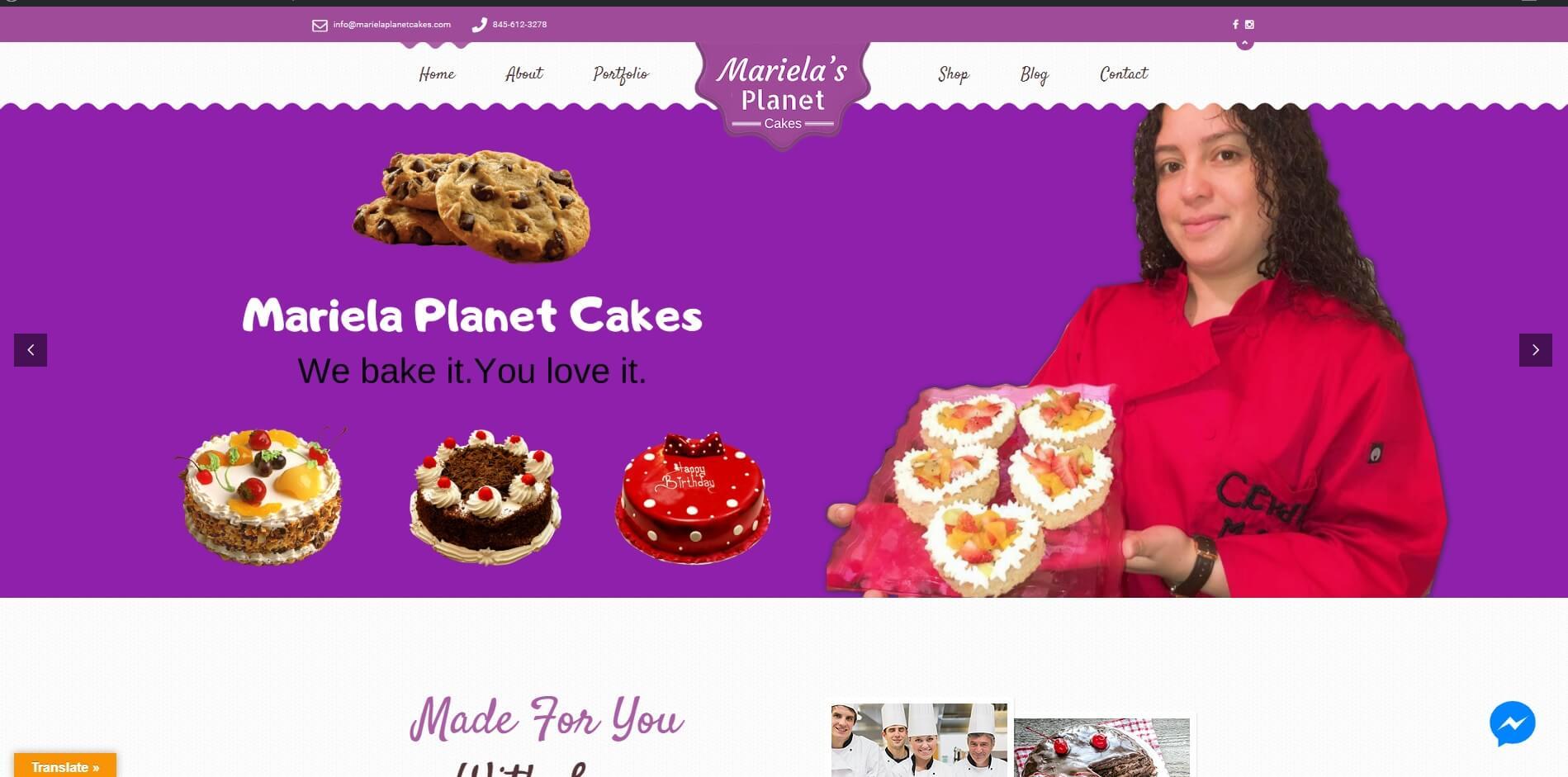 Mariela's Planet Cakes