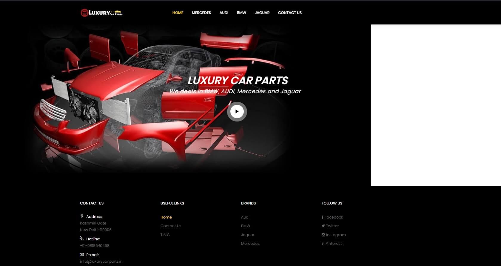 Luxury Car Parts