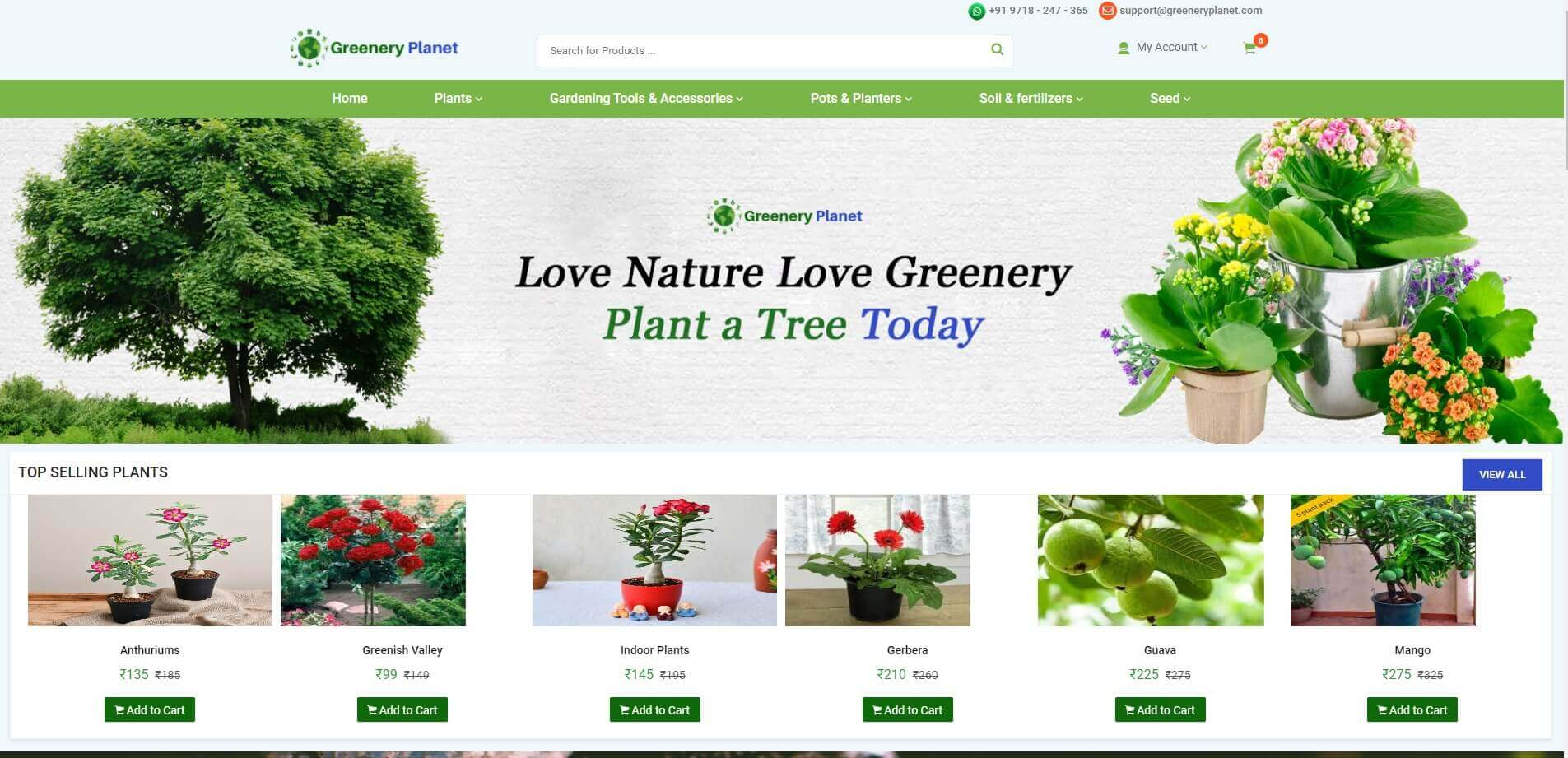 greenery planet