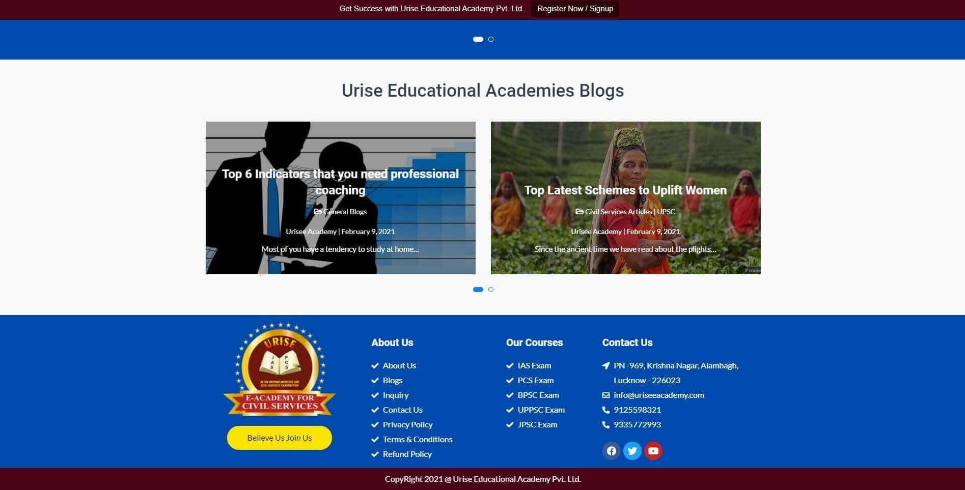 Urise Educational Academy